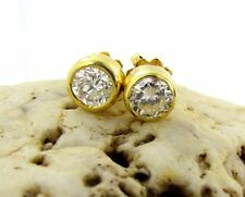 Studs with diamonds 1,4 ct 750 Gold Top Wesselton SI