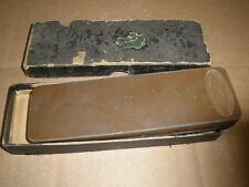vintage EVERKEEN cushion razor strop - knife blade HONE