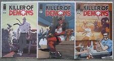 KILLER OF DEMONS #1-3 SET..CHRIS YOST/SCOTT WEGENER..IMAGE 2009 1ST PRINT..VFN+