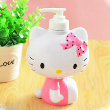 Hello Kitty Body Bath Soap Shampoo Lotion Dispenser Bump K523