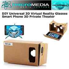 Cardboard Google 3D Virtual Reality Glasses Smart Phone 3D Private Theater