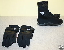Scuba Diving Gloves Scuba Pro Deep Sea Size S & Deep See Diving Snorkeling Boots