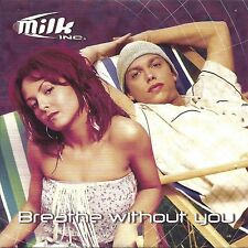Milk Inc. ‎– Breathe Without You   cd single in cardboard