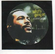 MARVIN GAYE BADGE.  Tamla Motown, Soul, What's Going On.