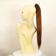 Hairpiece ponytail long 27.56 golden brown copper 7/30 peruk