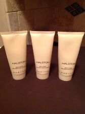 1-Lot of 3 / HALSTON Body Lotion 1.7 Fl oz