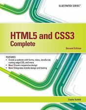Illustrated: HTML5 and CSS3, Illustrated Complete by Sasha Vodnik (2015,...