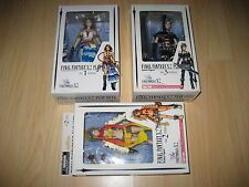 Final Fantasy X-2 Rikku Yuna Paine Play Arts No. 1 2 & 3 Action Figure NEW