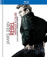 James Dean ~ Rebel Without a Cause BrAnD NeW Blu-ray Disc DigiBook Set Sealed SS
