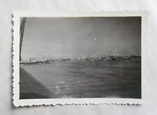 Vintage 40s/ 1947 B/W Photograph. Looking Towards Port Said (Egypt) #2. Colonial