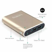 Lumsing Compact Grand A1 Plus 13400mAh Portable Charger External Battery GOLD