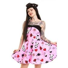 Cupcake cult tea party dress by poizen cute pandas lolita goth Large UK 14