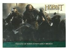 2014 The Hobbit An Unexpected Journey The Lonely Mountain flashback cards P-18