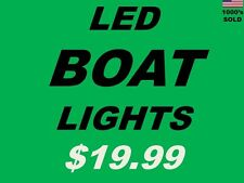 "Pontoon part LED Boat Lights ______ $19.99 ______ 12"" strips x 2 ___ 12v Marine"