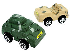 Box of 48 Pullback Tanks And Jeeps - Brand New Pocket Money Toys