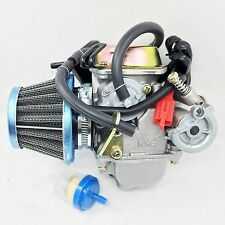 PERFORMANCE CARBURETOR W/ FILTER  MANCO HELIX CARBIDE ZIRCON  150CC GO KART CARB