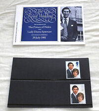 British Post Office Mint Stamps ROYAL WEDDING 1981