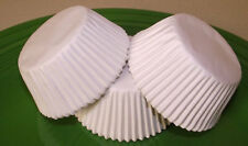 Grease-resistant White standard size cupcake liners/baking cups - 75 count