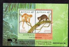 Australia MNH 1996 Cuscus-Minisheet-Joint Issue With Indonesia