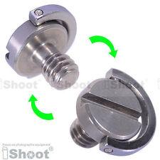 "1/4"" Folding Adapter Screw for Hanging Camera and Lens to Bag/Case/Backpack/Belt"