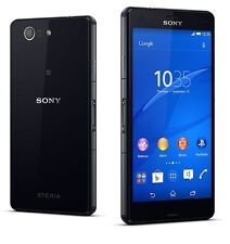 New Sony XPERIA Z3 Compact D5833 20.7MP 4.6' (FACTORY UNLOCKED) 16GB Black Phone