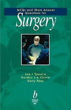 MCQs and Short Answer Questions for Surgery by Joe J. Tjandra, Gordon Ja...