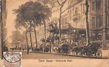 CPA EGYPTE LA CAIRE SHEPHZARDS HOTEL (dos non divisé)