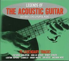 LEGENDS OF THE ACOUSTIC GUITAR - 3 CD BOX SET - BOB DYLAN, LEADBELLY & MORE