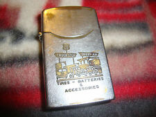 Antique Dundee Lighter - Phillips 66 Gas -Sherman Truck Stop 1940's/1950's Tires