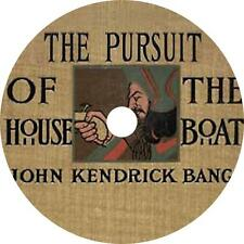 Pursuit of the House-Boat John K Bangs Audiobook Fiction English on 1 MP3 CD