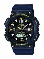CASIO Herrenuhr, Solar, 10bar wasserdicht, AQ-S810W-2AVEF