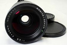Mamiya Sekor C 45mm f2.8 Lens 645 M645 - -  (front glass scratched) works good