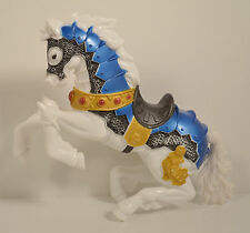 "8"" White Medievil Knight Horse Chap-Mei Action Figure"