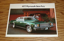 Original 1977 Plymouth Gran Fury Sales Brochure 77