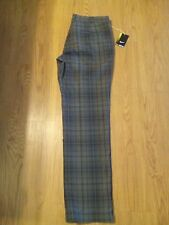 New Nike Men's Golf Pants Tartan Plaid Tour  Style 509741-010 Size 36X32