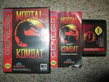 Mortal Kombat 1 (Sega Genesis, 1993) Complete