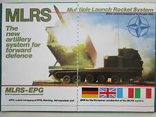1/1983 PUB MLRS EPG LAUNCH ROCKET SYSTEM VOUGHT RTG HUNTING AEROSPATIALE BPD AD