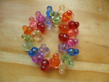 Mickey Mouse Icon Rainbow faceted bead bracelet Disney World Theme Parks Pretty!
