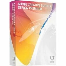Adobe Creative Suite 3 Design Premium for Mac with Serial Number NEAR MINT