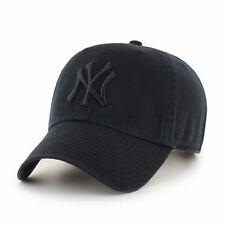 47 BRAND NEW Men's New York Yankees Cap Black Clean Up BNWT