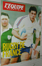 EQUIPE MAGAZINE N°512 1991 COUPE MONDE RUGBY CABANNES FIDJI WALES POLO NAMIBIE