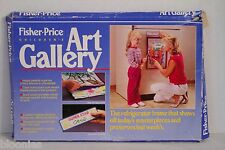 Fisher-Price Children's Art Gallery Refrigerator Frame 1984 (Display Child Art!)