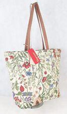 My Garden Flower Design Large Sized Tapestry Hand Bag - Shoulder Bag Signare