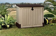 Outdoor Storage Shed Garden Utility Cabinet Garage Tool Box Backyard Building