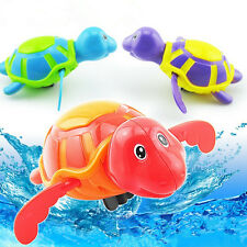 Wind-up Swimming Turtle Animal Toy Child Baby Boy Girl Bath Time Clockwork Float