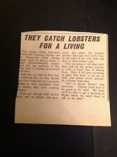 L1-8 Ephemera 1963 Article Lawrence Hedley George Baxter Season Sluice Fishing