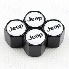 Black Vehicle Tire Tyre Valve Cap Dust Cover Hat Decoration FOR Jeep Accessories