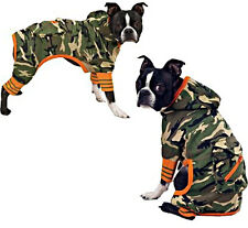 ZACK & ZOEY Dog Clothes Clothing Jumpsuit Jacket Green Army CAMO X Small