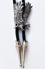 Grandi Flying Eagle Bolo Tie Bootlace ~ LINEA DANCE Ware WESTERN accessorio di moda