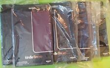 "AMAZON Kindle Fire HD 8.9"" Covers - Leather Standing Cases - Lot of 5"
